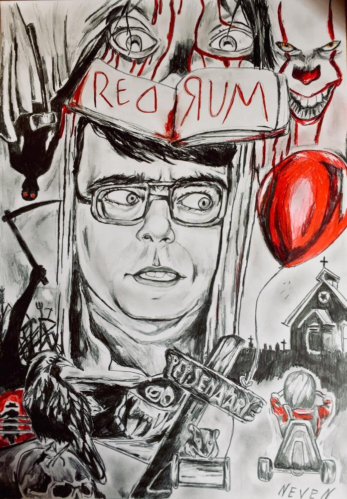 Stephen King by Neven